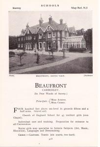 Beaufront School