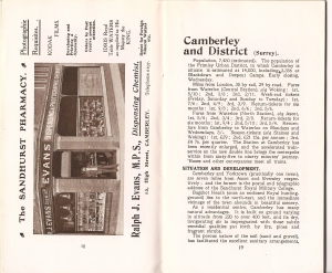 Camberley Borough Guide 7