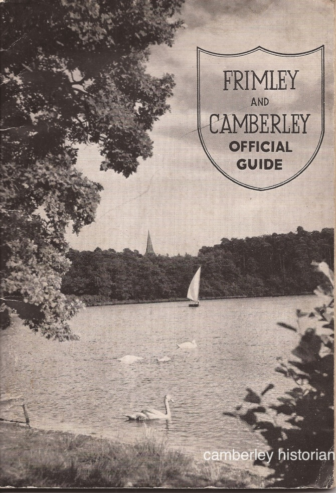Camberley Guide 1950s