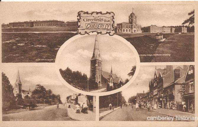Camberley postcard 17