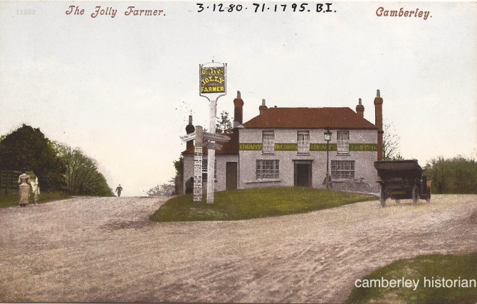 Camberley postcard 9