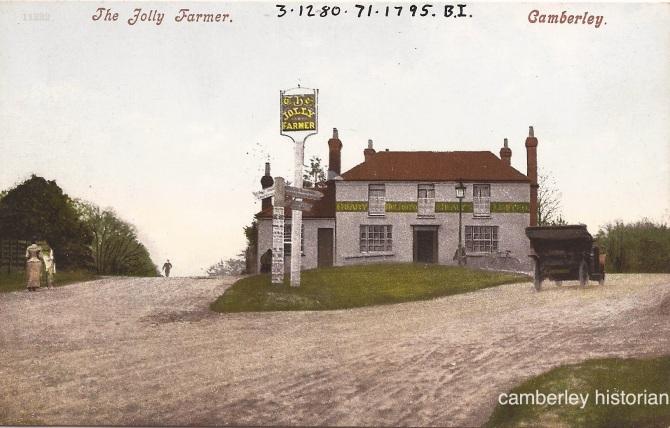 Camberley postcard 9