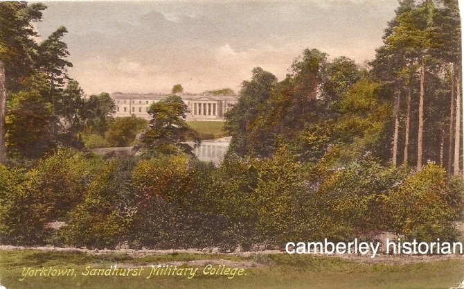 Camberley postcards assorted 3