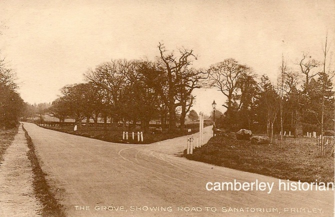 Camberley postcards assorted 4