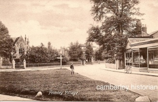 Camberley postcards assorted 6