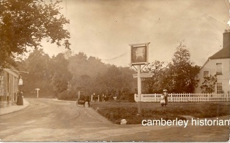 Camberley postcards assorted