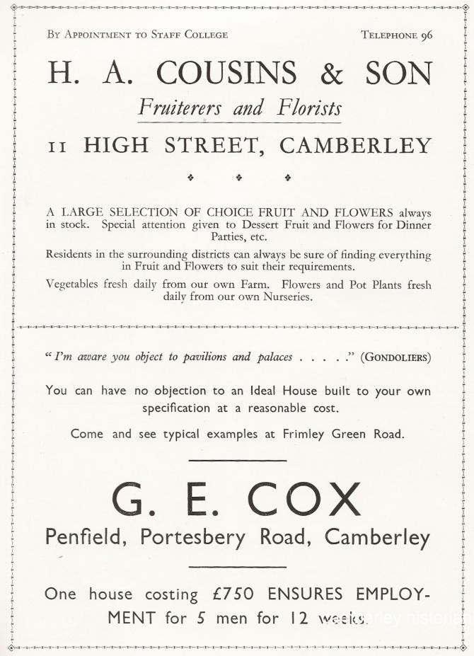 Gondoliers Programme 4