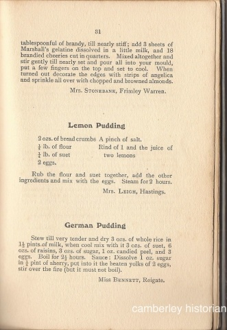 Bassett Cookery book 7