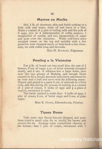 Bassett Cookery book 8