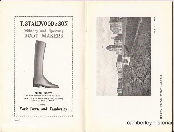 Camberley guidebook 1930s 4