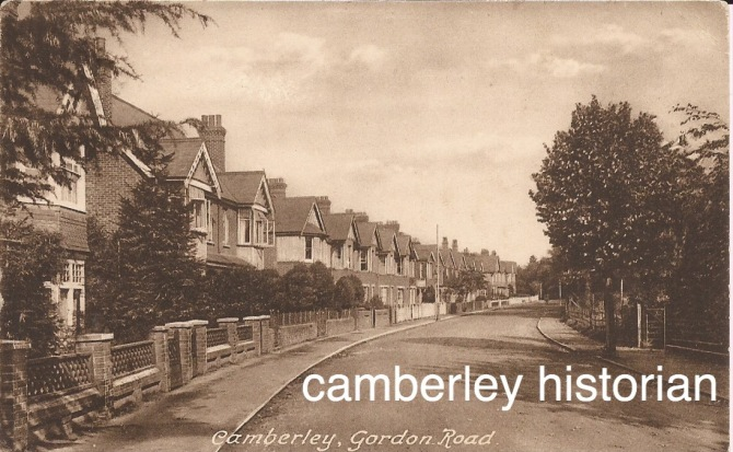 Camberley postcards bought 2015 15