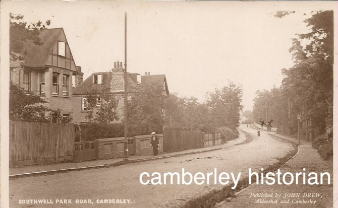 Camberley postcards bought 2015 9