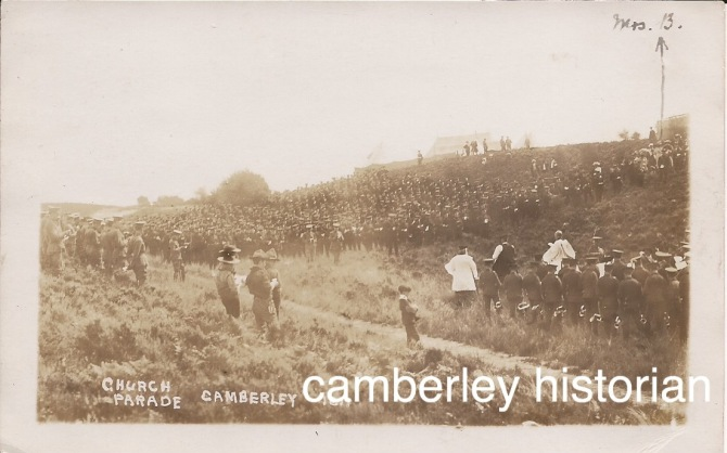 Camberley postcards bought 2015